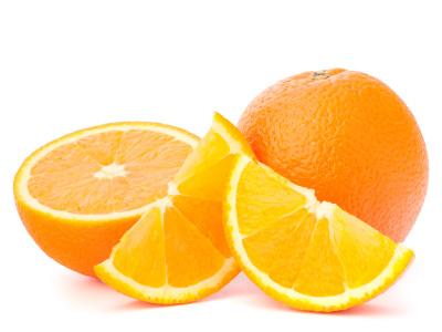 Zdravý pomaranč plný vitamínov