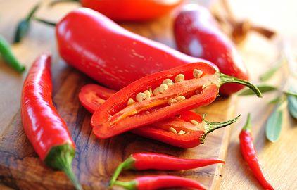 čili papričky