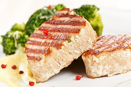diétny recept - grilovaný tuniak