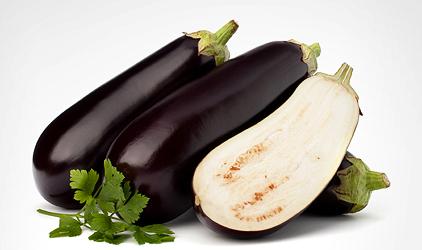 dukanova diéta - povolené potraviny - baklažán