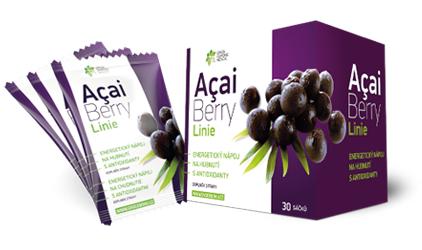 nápoj na chudnutie - acai berry linie