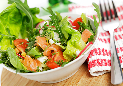 nízkocholesterolová diéta - šalát