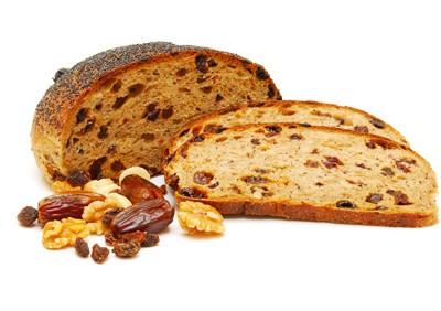 chlieb s orechami