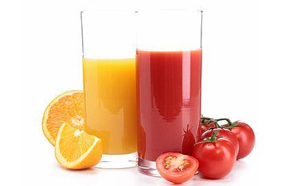pomaranč, paradajka, rajčina, džús