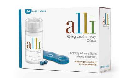tabletky na chudnutie - alli