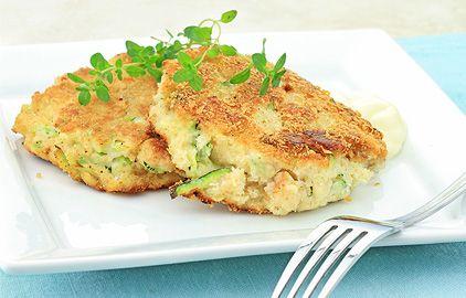krabie fašírky so zeleninou