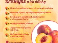 broskyne na chudnutie a zdravie človeka