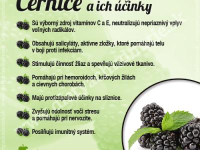 černice na chudnutie a zdravie