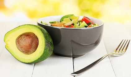 diétny recept - avokádový šalát