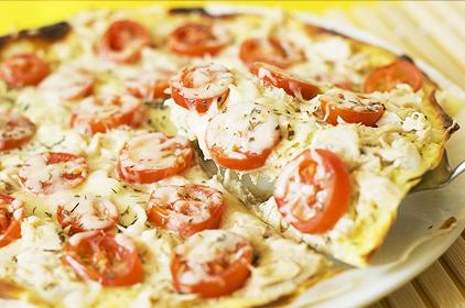 diétny recept - dukanova pizza