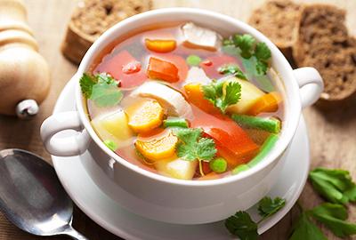 diétny recept - zeleninová polievka