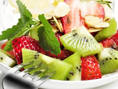 dietny recept - exotický ovocný šalát