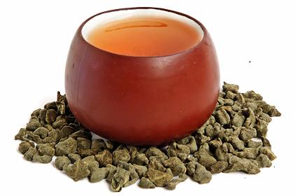 korenistý ženšenový čaj