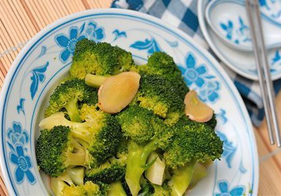 brokolica a zázvor