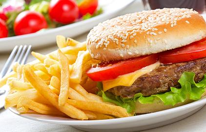 redukčná diéta - jedálniček - zakázané potraviny