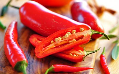 tipy pre zdravší život - chilli
